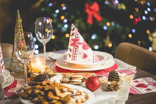 Zeldenrustsierbestrating-Kerstdiner